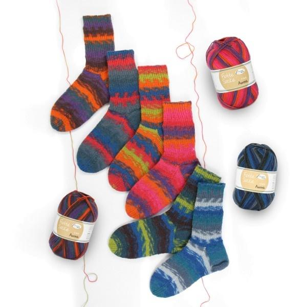 Flotte Socke 6 draads