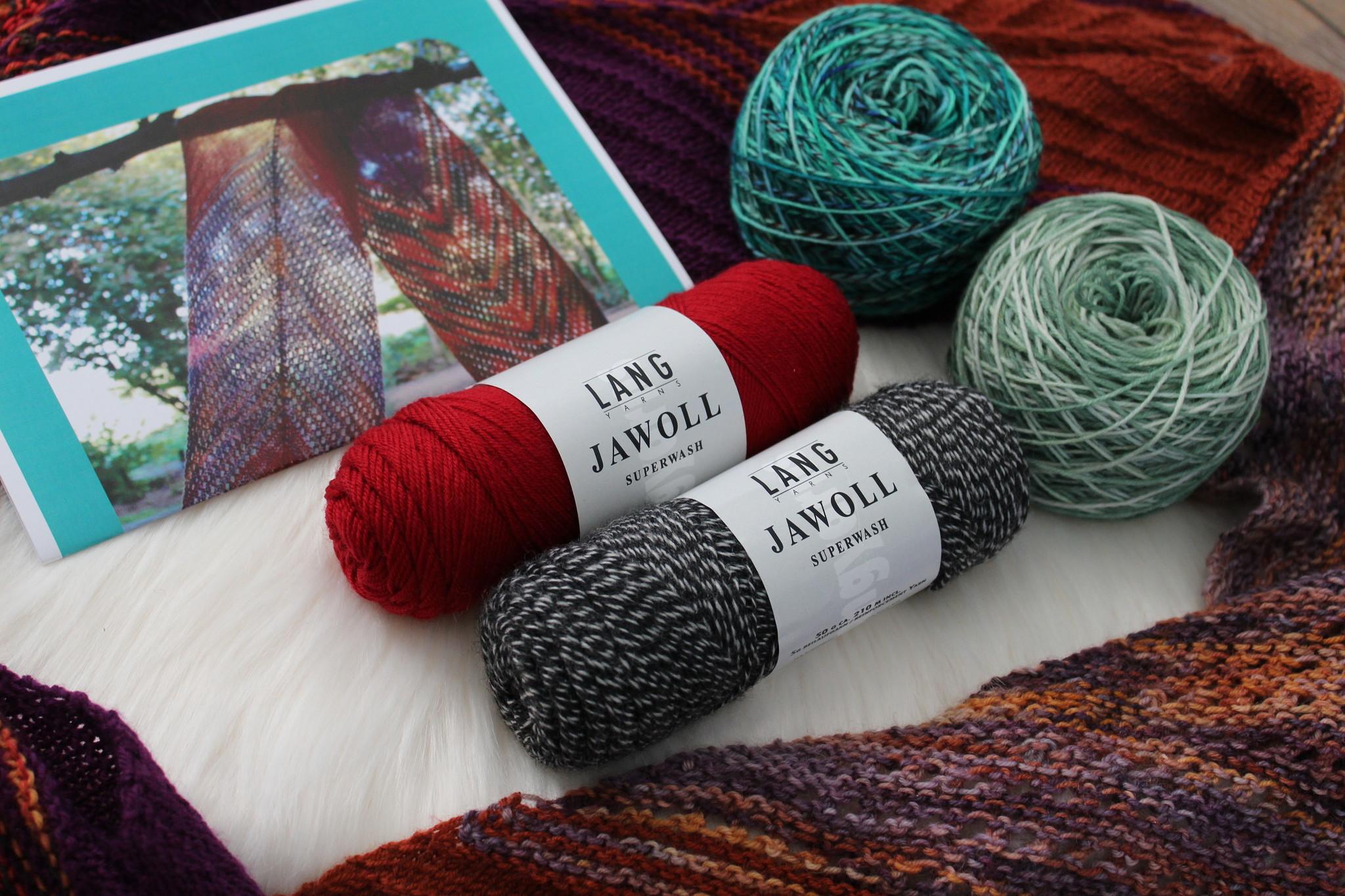 Amilishly Designs Breipakket Paint me Right Shawl - Tulip Field