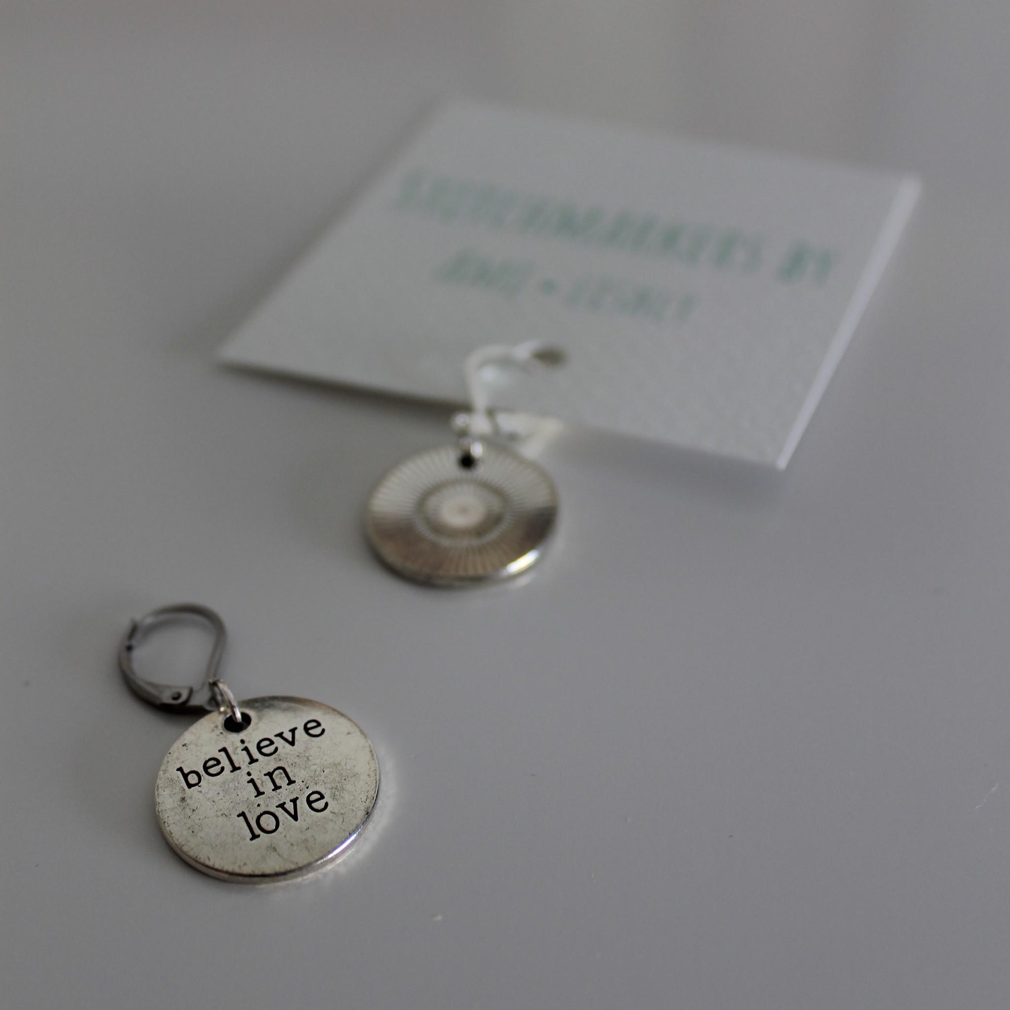 Amilishly Designs Amilishly Steekmarkeerders - Believe in Love SET 2stks