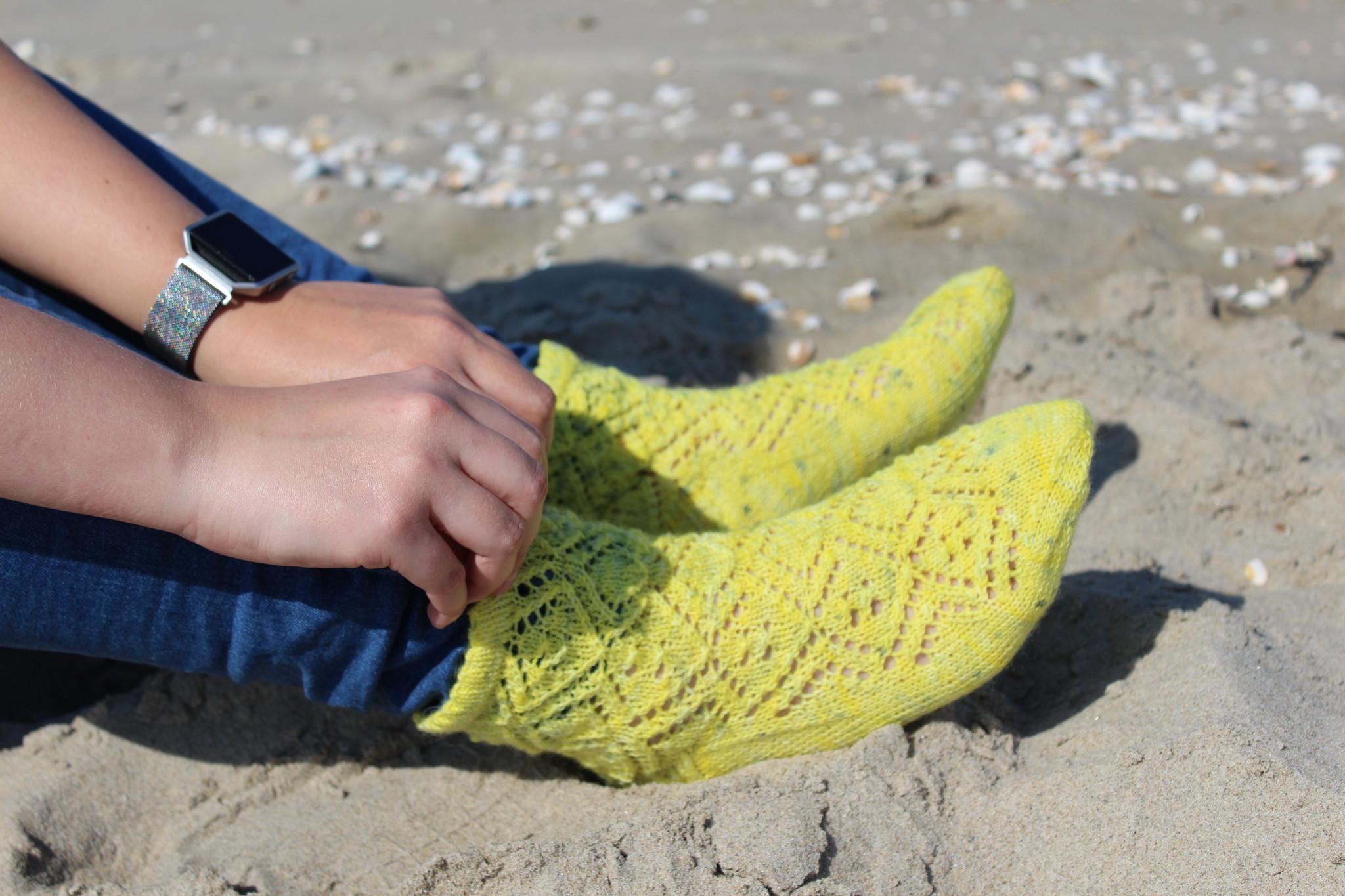 Bianca Boonstra Designs Los Patroon - Meteor Socks