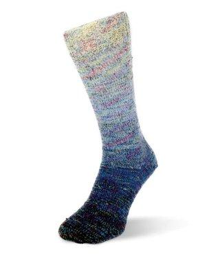 Rellana Flotte Socke  - Regenbogen Multi 1484
