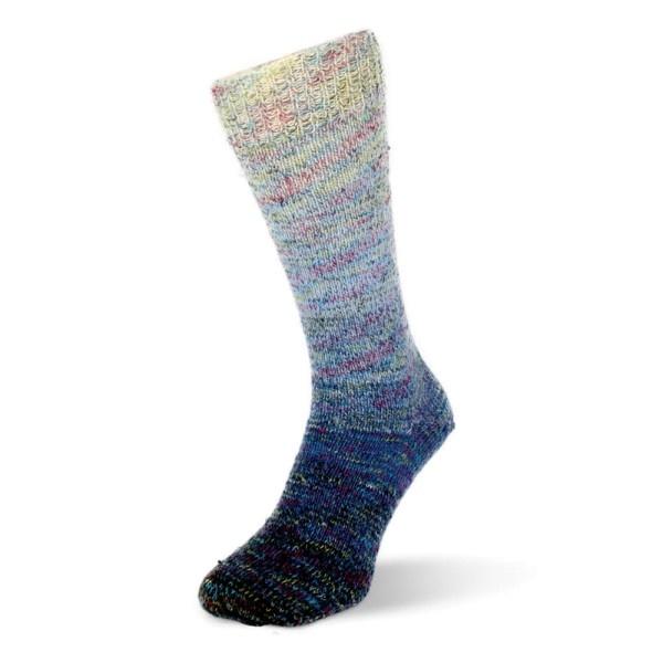 Rellana Flotte Socke 4 draads - Regenbogen Multi 1484