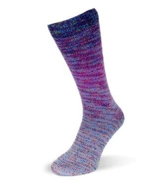 Rellana Flotte Socke  - Regenbogen Multi 1483