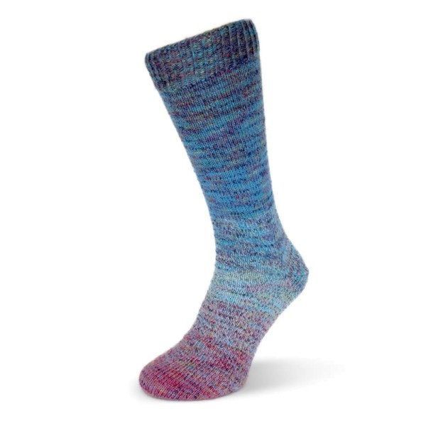 Rellana Flotte Socke 4 draads - Regenbogen Multi 1481