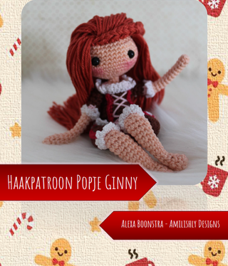 Amilishly Designs Haakpatroon AMILISHLY Amigurumi - Popje Ginny