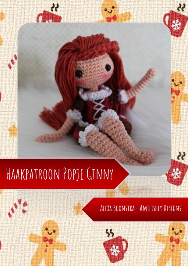 Amilishly Designs Haakpatroon AMILISHLY Amigurumi - Popje Ginny