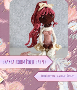 Amilishly Designs Haakpatroon AMILISHLY Amigurumi - Popje Harper