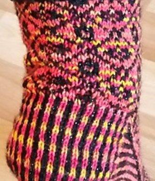 Bianca Boonstra Designs Los patroon - Harlan sokken.