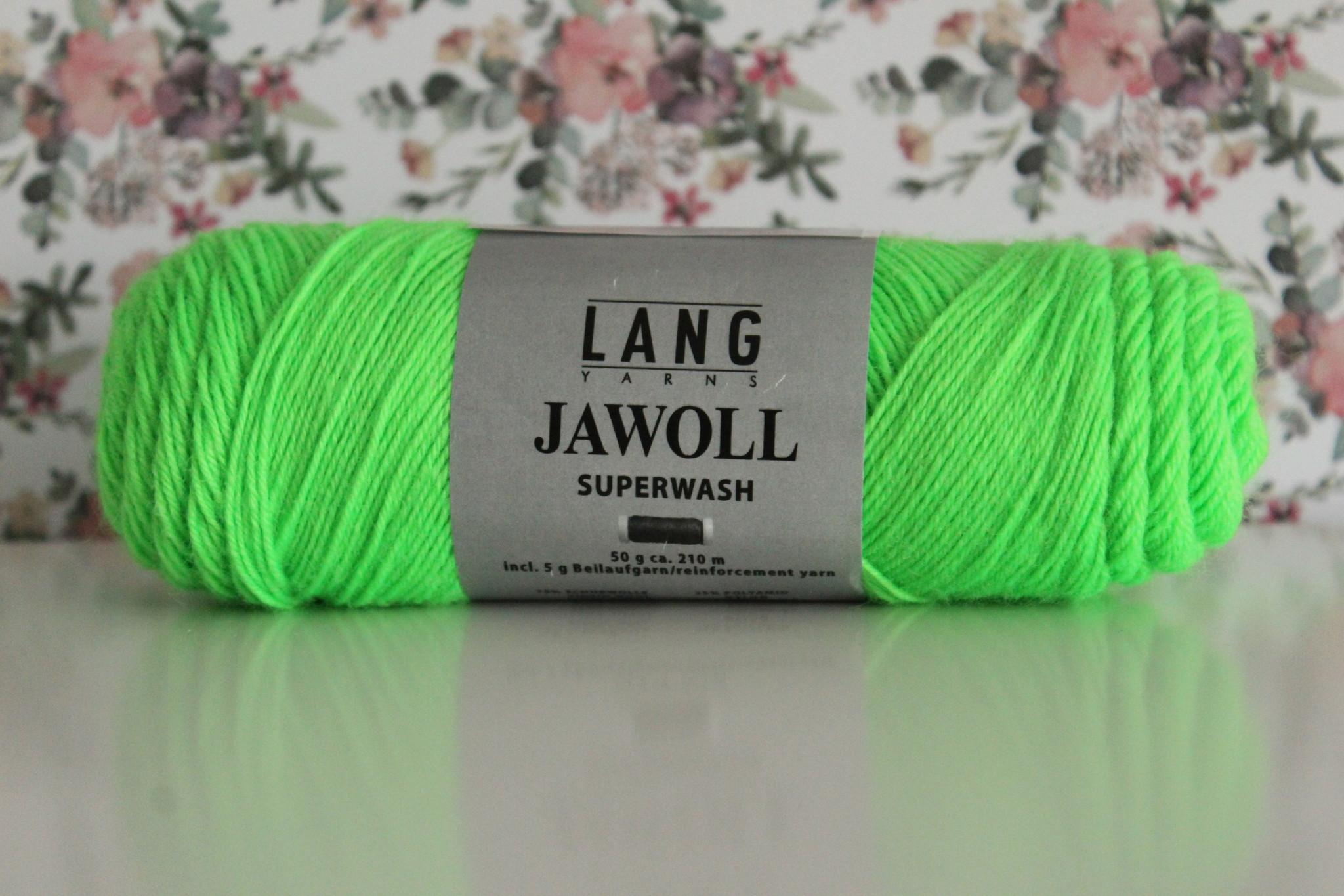 LangYarns JAWOLL Superwash 316 Neon Groen
