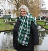 Kristel Heijndijk Designs Classy Crochet Checkered Shawl