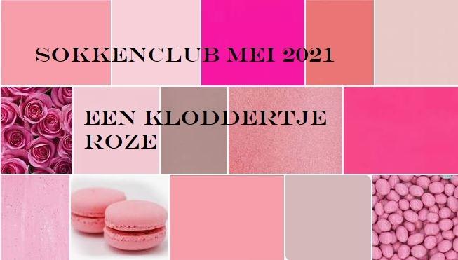 Team Chefwol.nl SOKKEN Club Mei 2021: Een kloddertje roze...