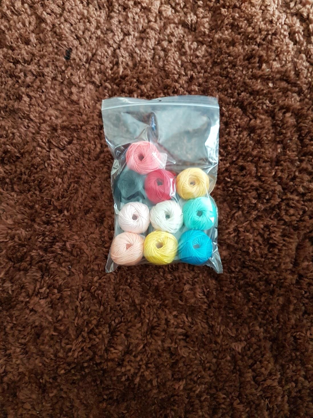 YARN AND COLORS. Grab Bag Musthave Mini