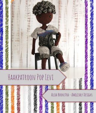 Amilishly Designs Haakpatroon AMILISHLY Amigurumi - Pop Levi