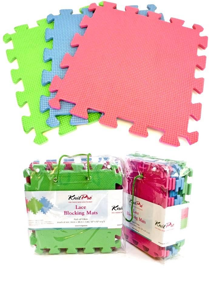 KnitPro Voororder - KnitPro Lace Blocking Mats