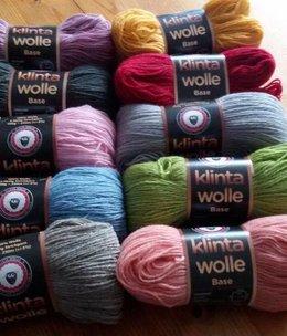 Klinta Wolle Driedraads wol