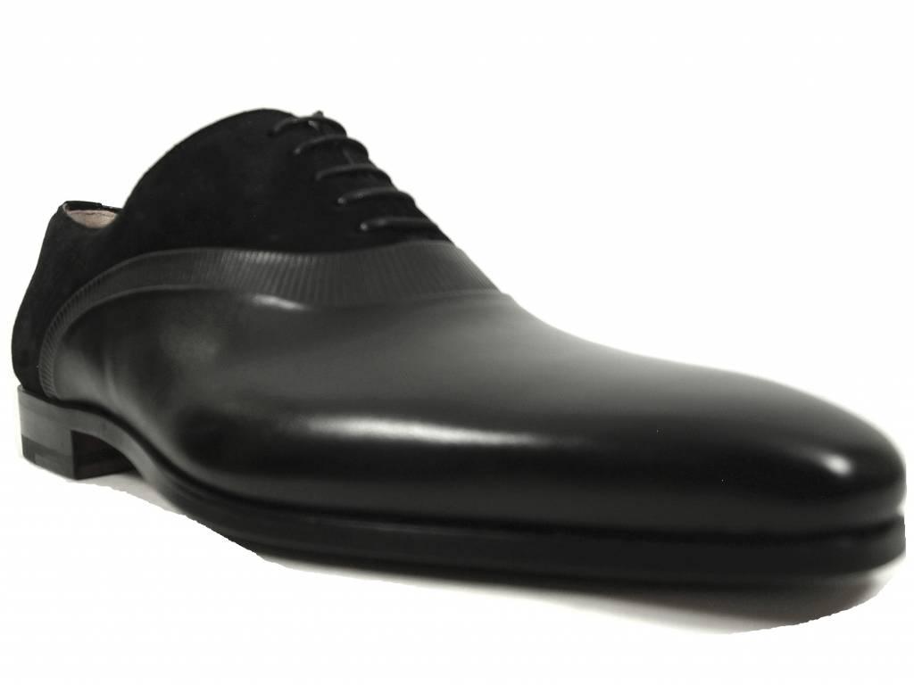 Magnanni Magnanni zwarte veterschoen 19540