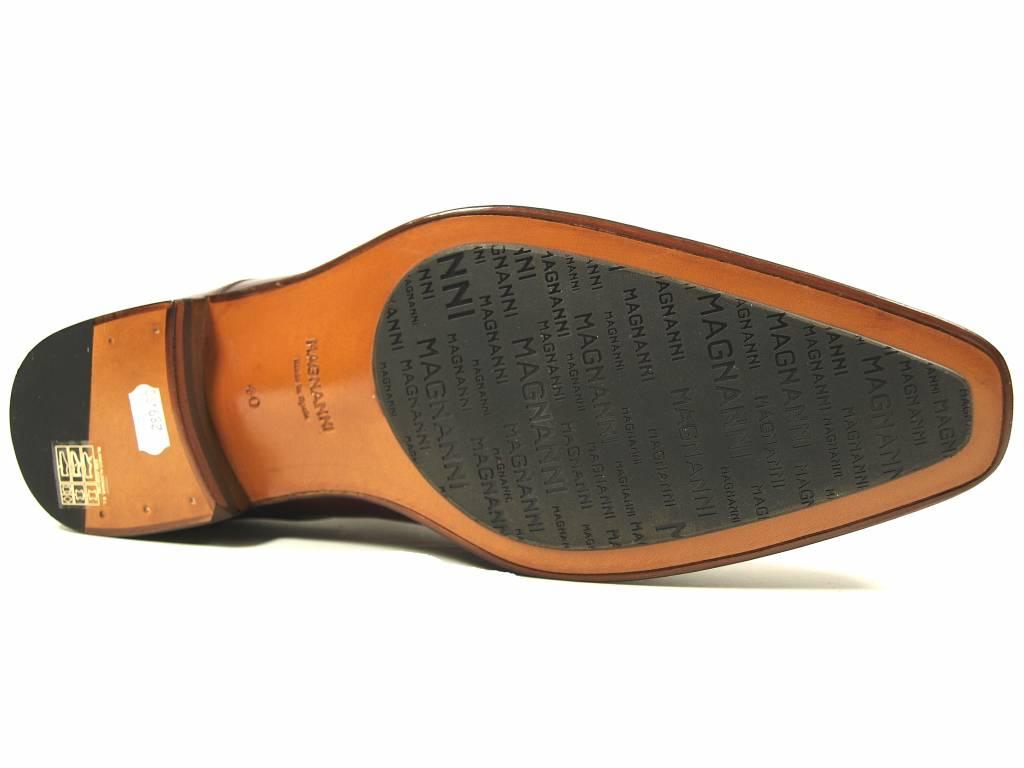 Magnanni Magnanni gespschoen 16512 cognac