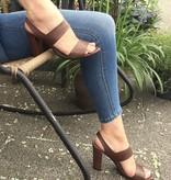 Panara Panara sandaal bruin leer 4176