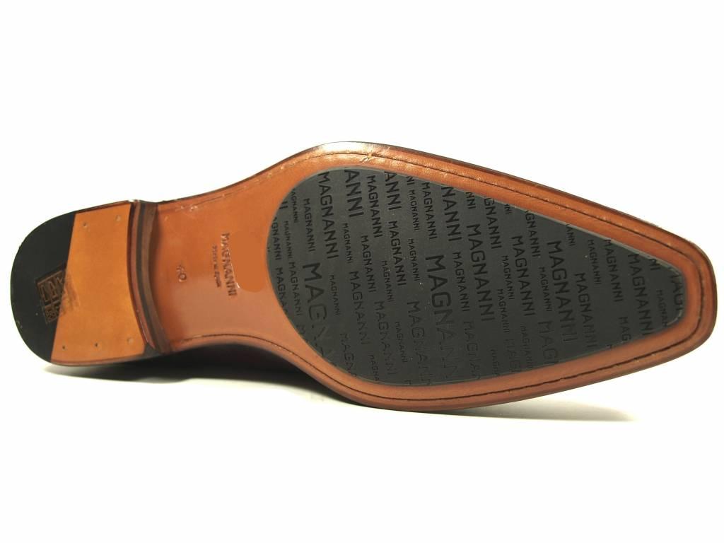 Magnanni Magnanni veterschoen cognac 21318