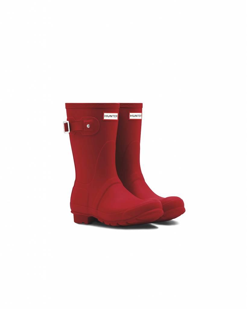 Hunter Boots Dames Hunter Womens Original Short Rood WFS1000RMA-MLR