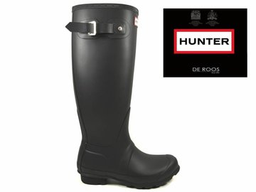 Hunter Boots Hunter Womens Original Tall Zwart WFT1000RMA-BLK
