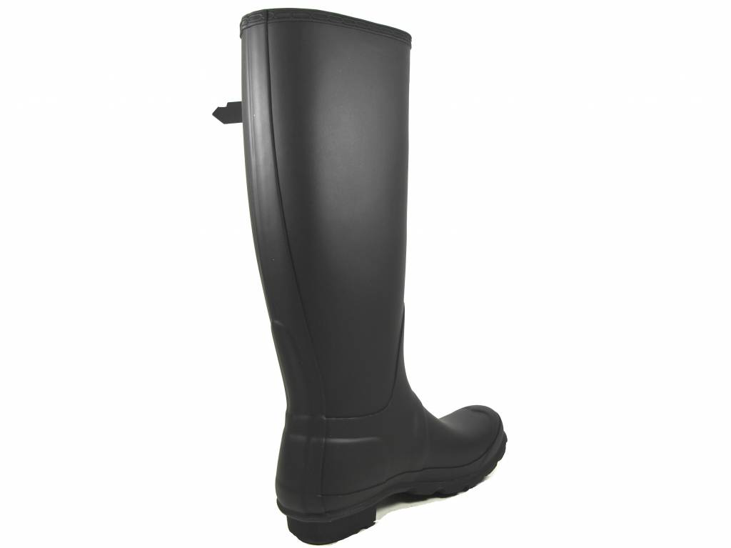 Hunter Boots Dames Hunter zwart Womens Original Tall  WFT1000RMA-BLK
