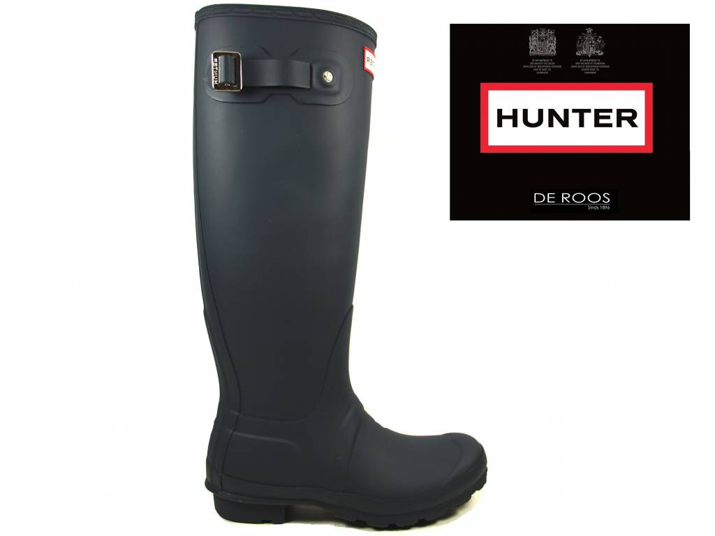 Hunter Boots Hunter Blauw Womens Original Tall WFT1000RMA-NVY