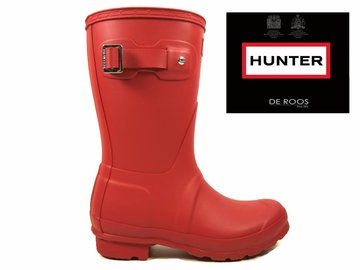 Hunter Boots Dames Hunter Womens Original Short Rood WFS1000RMA-MLR