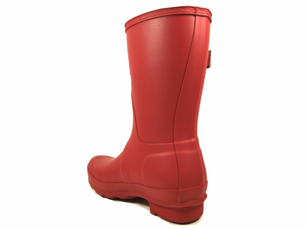 Hunter Boots Hunter Womens Original Short Rood WFS1000RMA-MLR