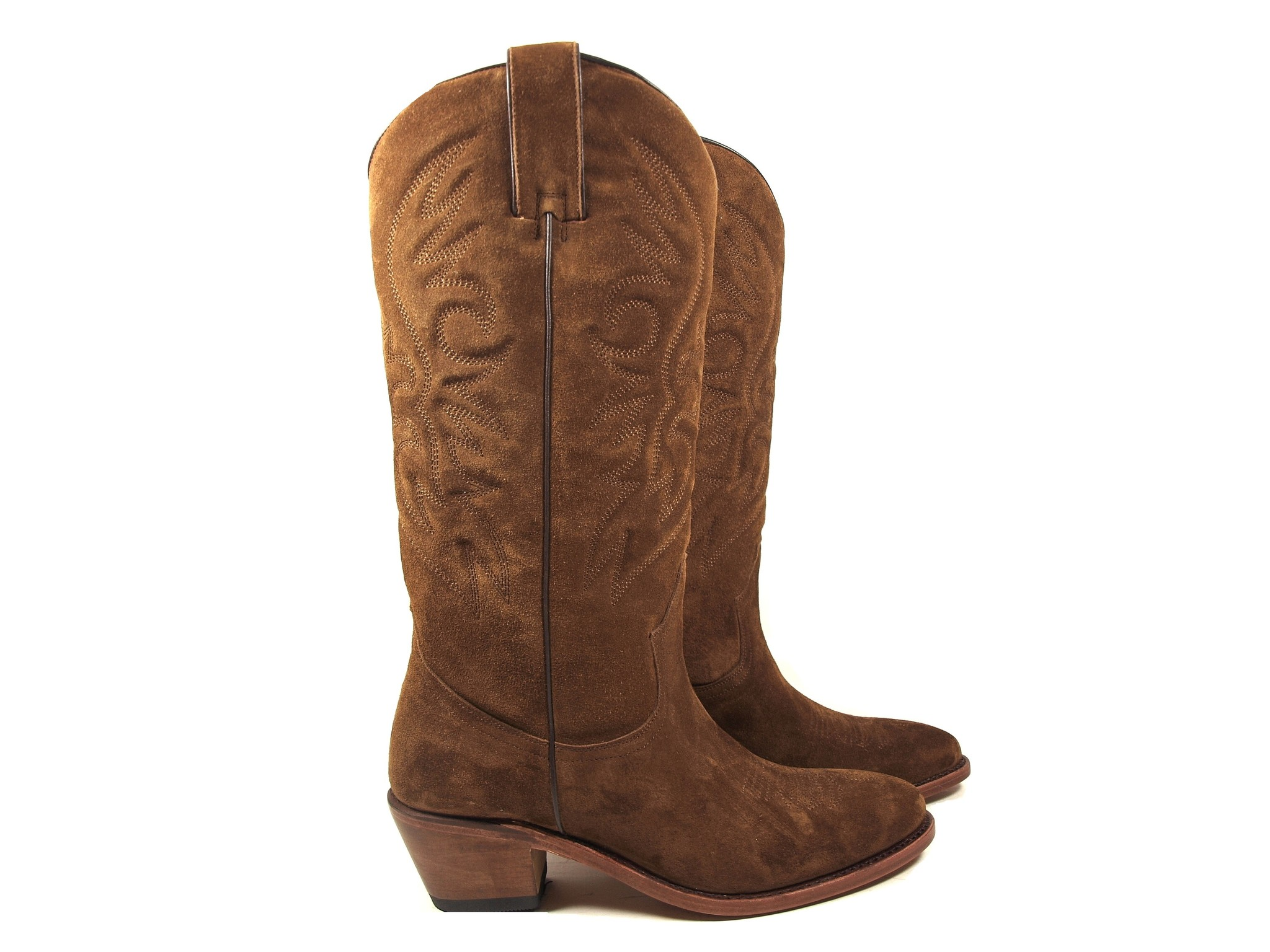 Perlita Peaches Perlita Peaches Western Boots Helden Bruin