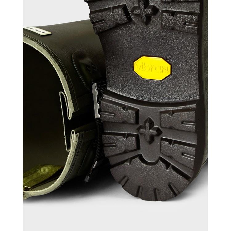 Hunter Boots Dames Hunter Regenlaars Donkergroen (Dark Olive) Womens Balmoral WFT1065RPO Poly Lining