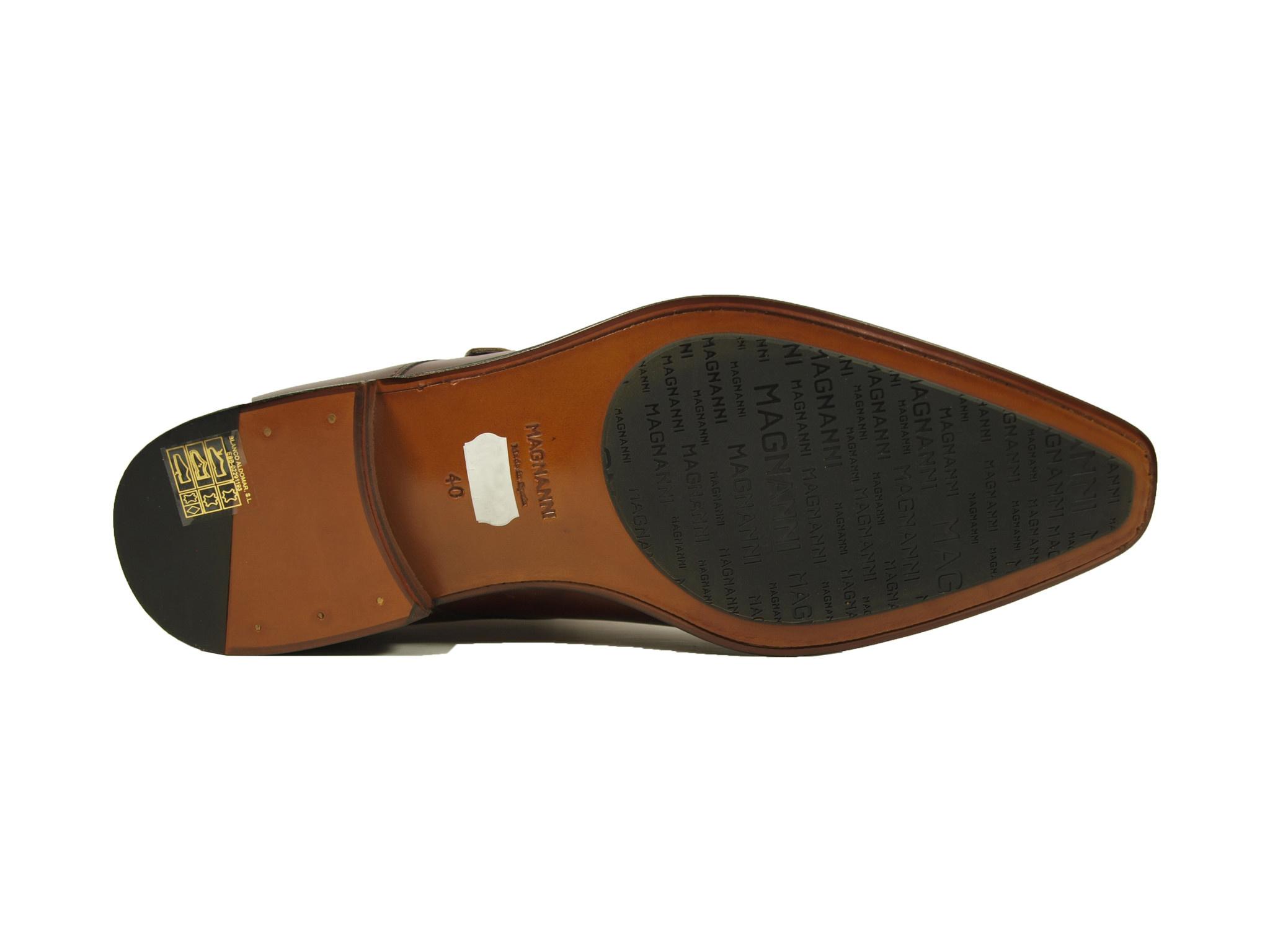 Magnanni Magnanni Veterschoen 23050 Cognac (Cuero Tabaco)