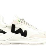 WOMSH WOMSH Sustainable Sneaker VW201834 Wit Zwart
