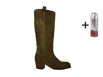 Sendra Boots Sendra 14821 Lange laars Mosgroen