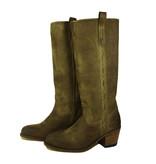 Sendra Boots Sendra 14821 Lange laars Mosgroen Suède