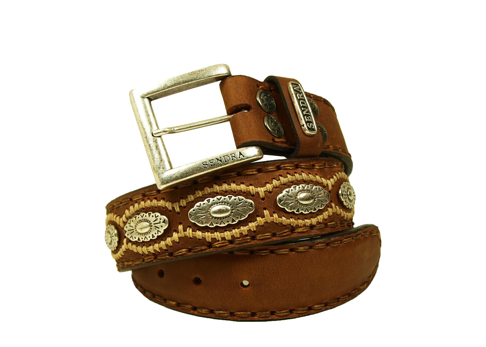 Sendra Boots Sendra Riem 7606 Cognac Leer