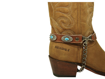 Sendra Boots Sendra Laarzen Sporen Arnes 267 Cognac