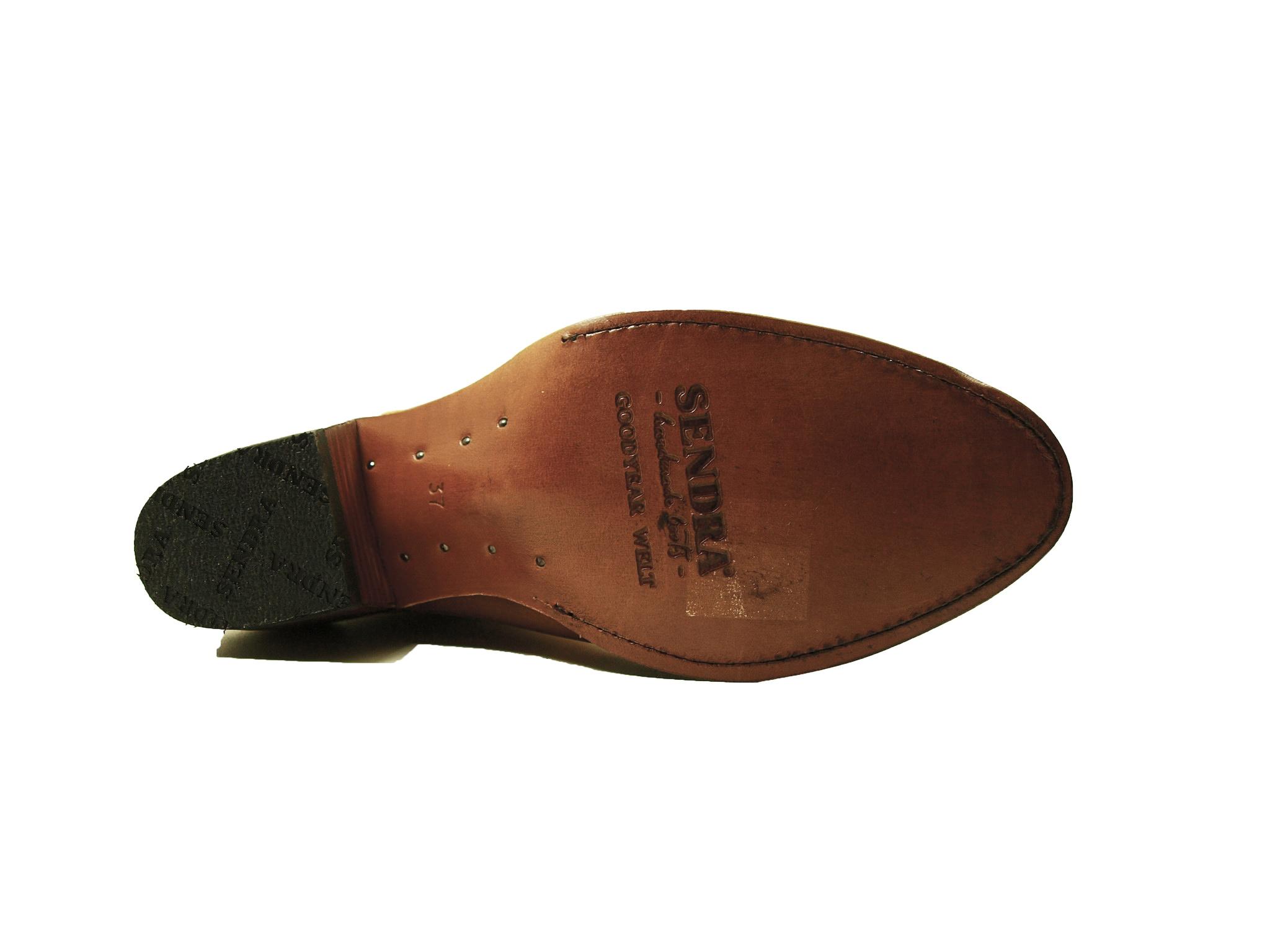 Sendra Boots Sendra 11627 Western Boots Cognac (Lavado) Nubuck