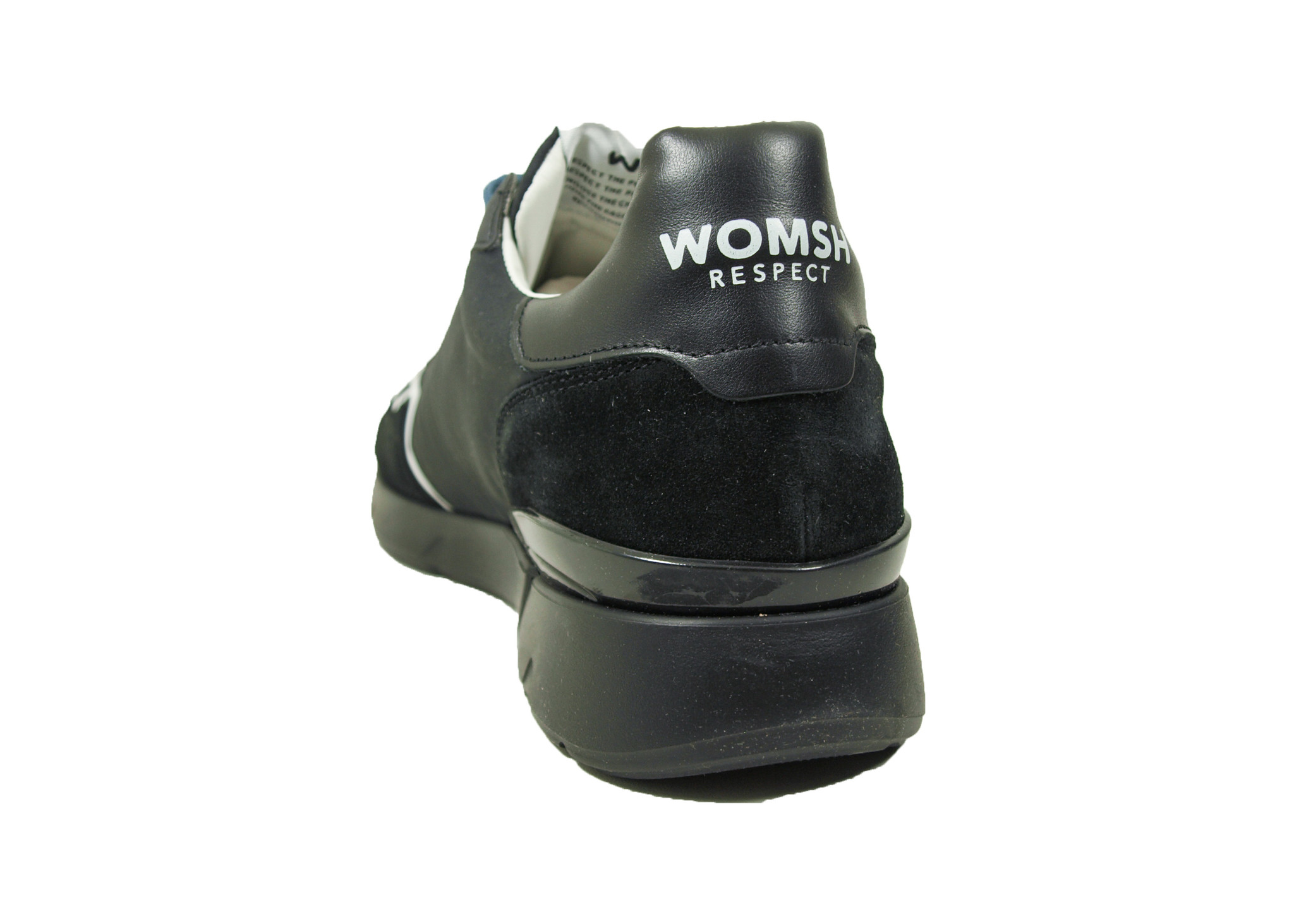 WOMSH WOMSH Sustainable Sneaker R202453 Runny Black