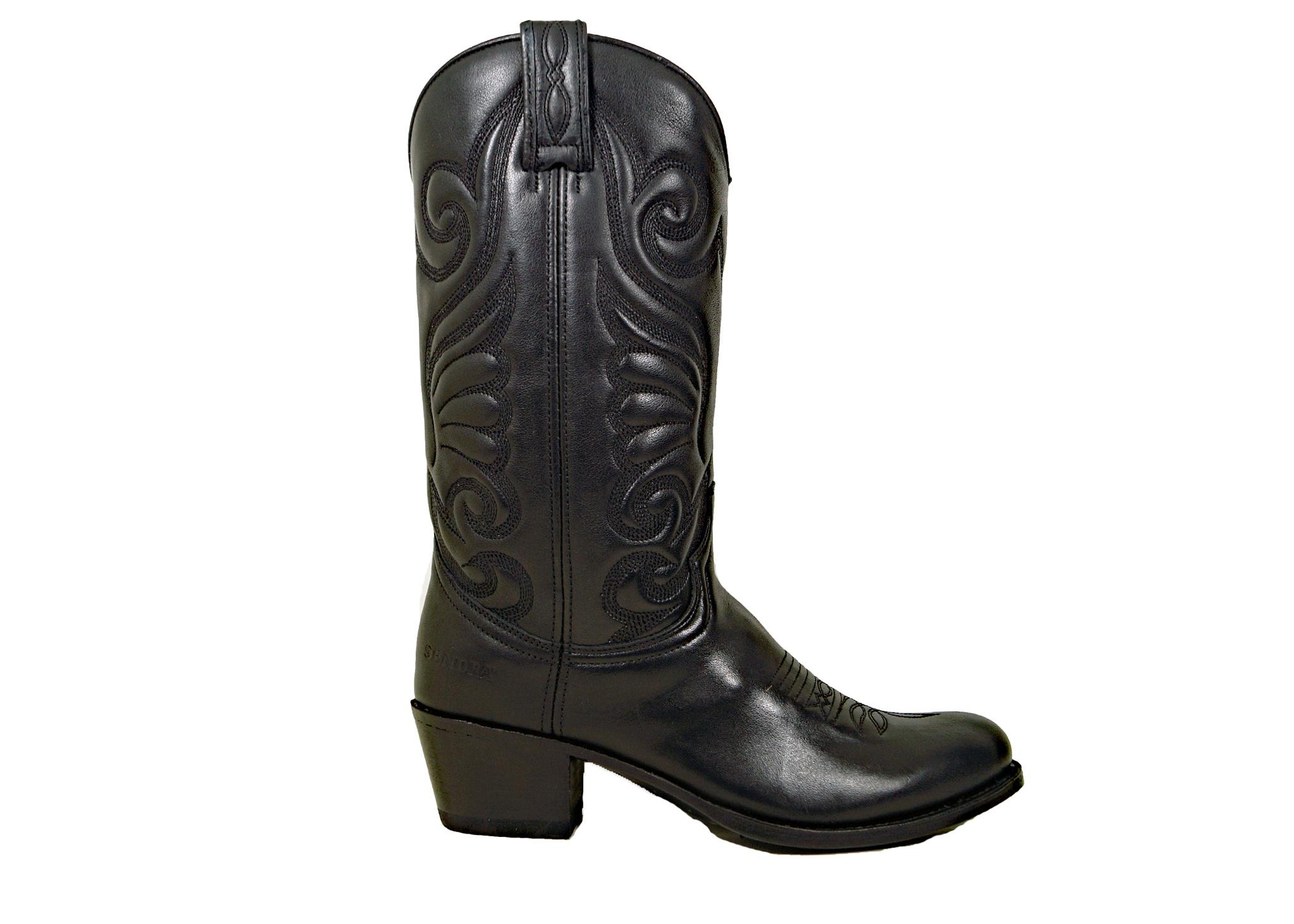 Sendra Boots Sendra 11627 Western Boots Zwart (Negro) Leer - Copy