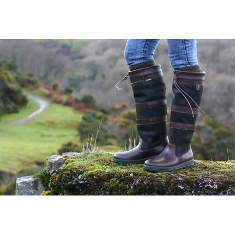 Dubarry  ExtraFit 39311235 Galway Black / Brown