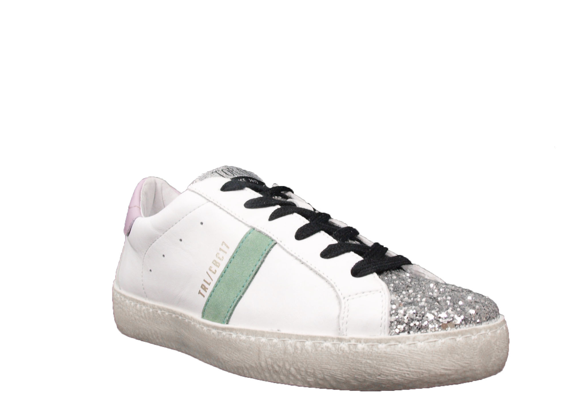 Toral Toral Sneaker Multi TL-12638 Wit/Lila/Groen