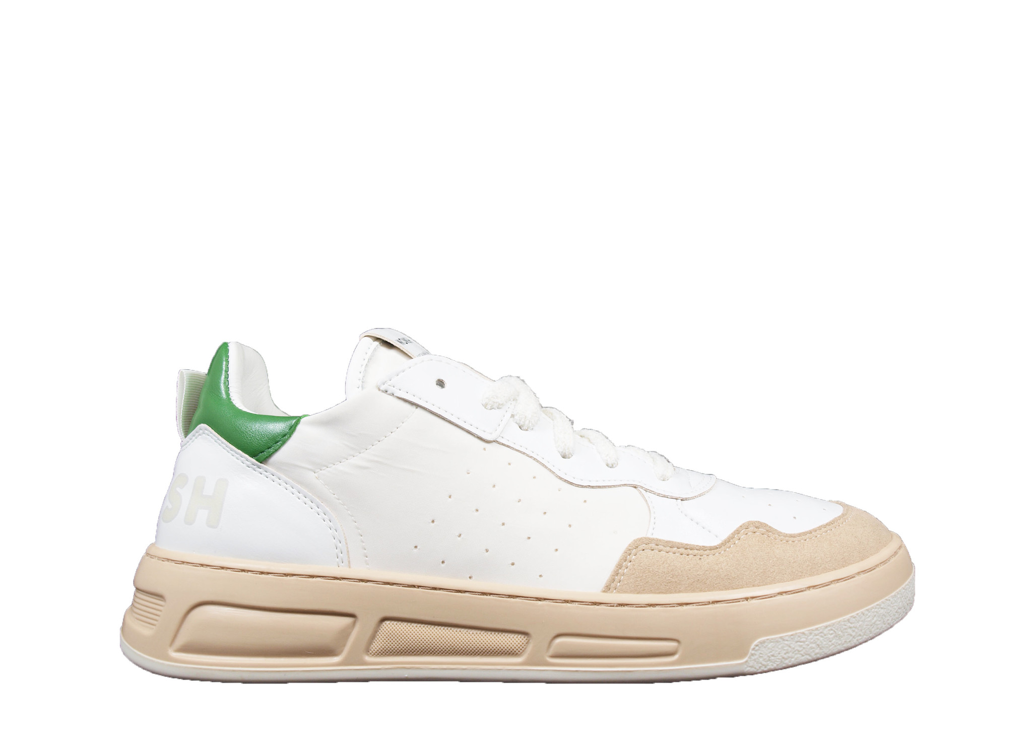 WOMSH WOMSH Sustainable Sneaker VHY211062 Wit/Groen