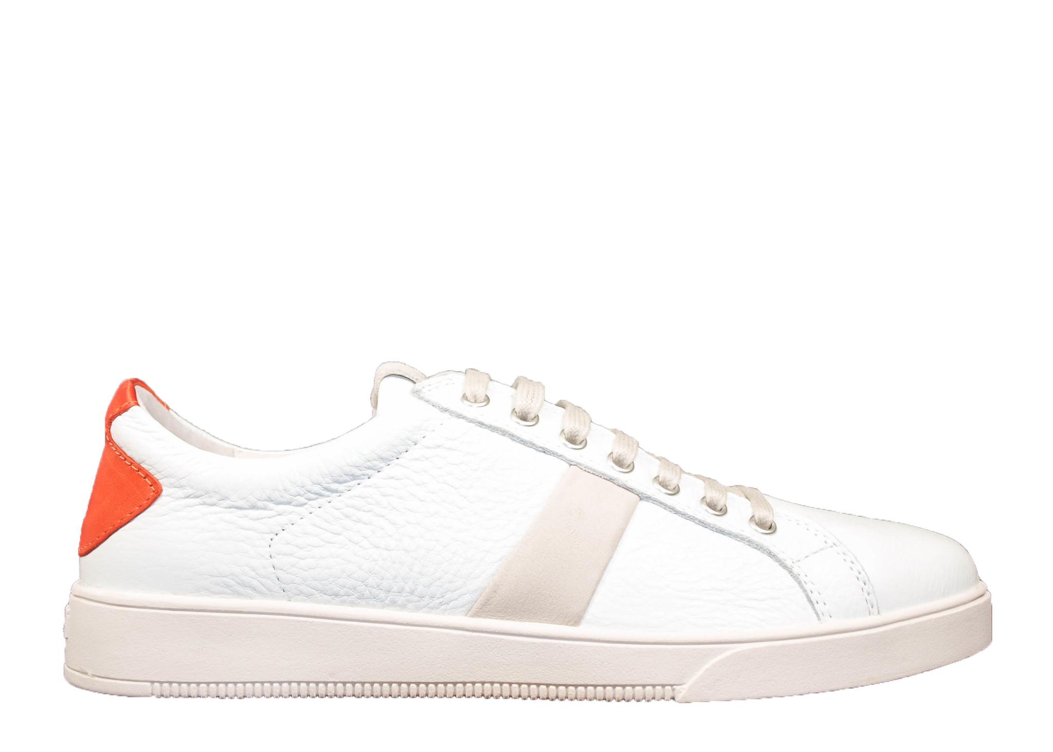 blackstone heren Blackstone Sneaker VG20 Puffins Wit/ Oranje
