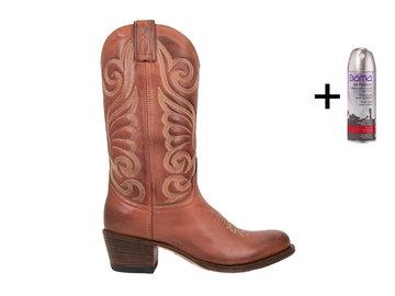 Sendra Boots Sendra 11627 Western Boots Cognac