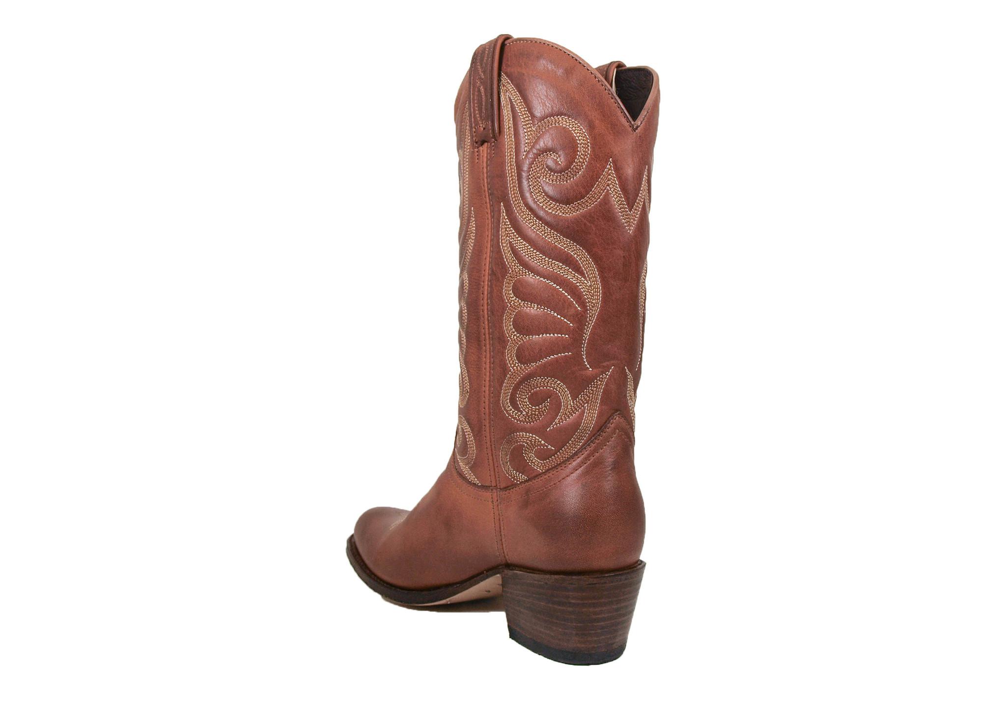 Sendra Boots Sendra 11627 Western Boots Debora Cognac