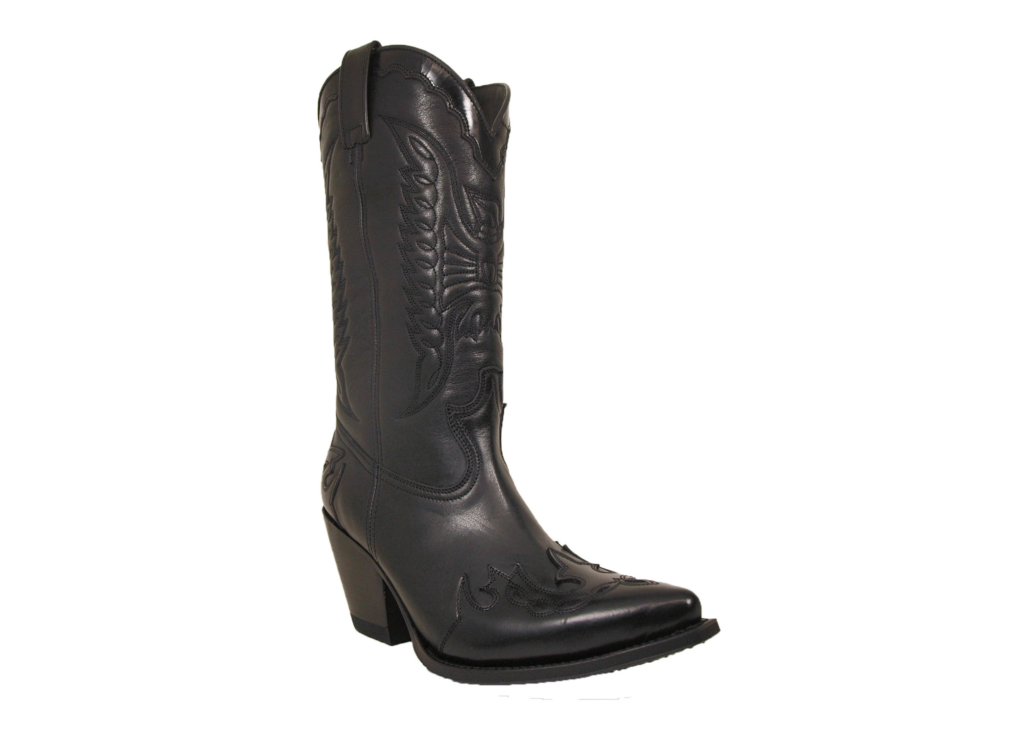 Sendra Boots Sendra 15730 Lula Gorca Western Boots Zwart