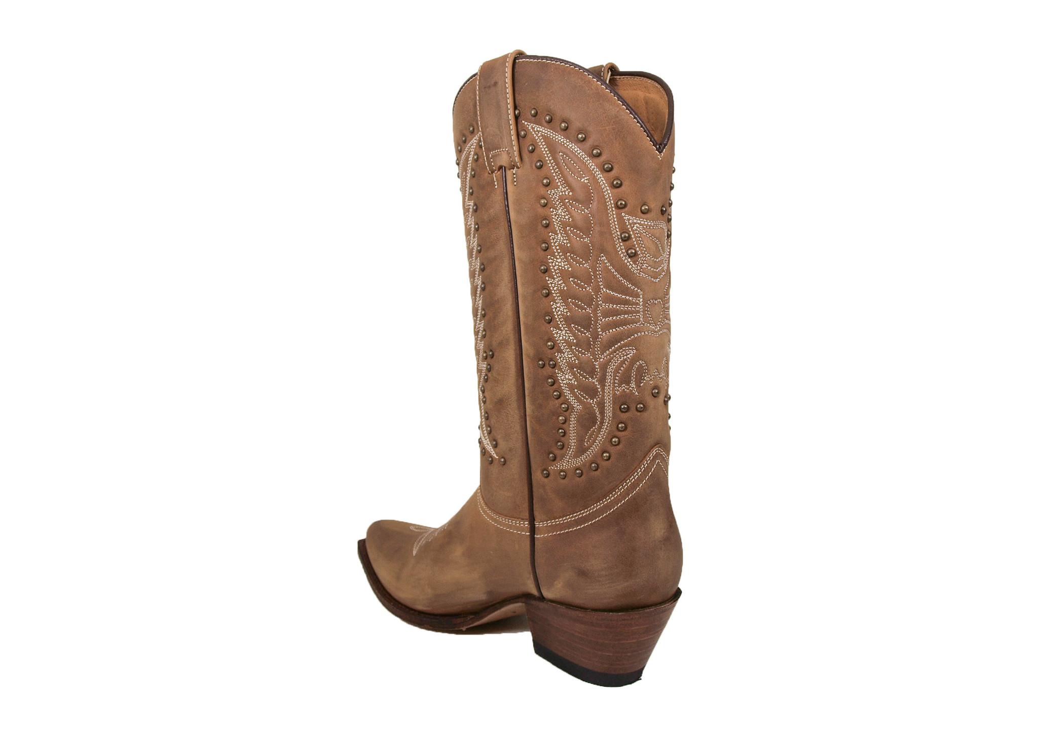 Sendra Boots Sendra 17649 Lia Western Boots Bruin