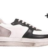Blackstone dames Blackstone Sneaker WL27 Zwart/Wit