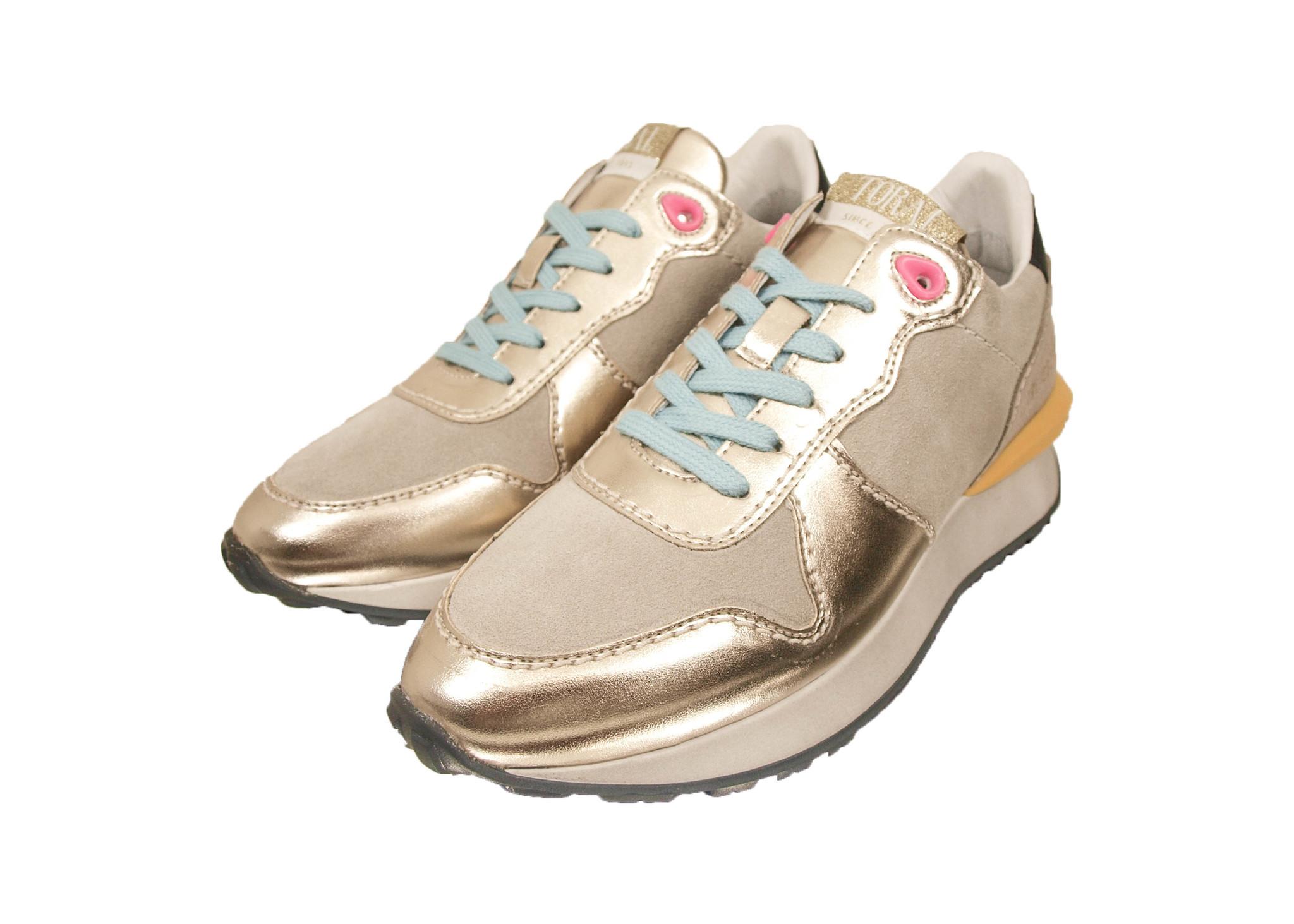 Toral Toral Sneaker TL-12367 Platino/ Beige/ Goud